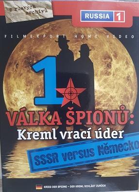 Válka špionů:Kreml vrací úder 1:SSSR versus Německo -/digipack/ DVD