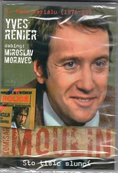 Komisař Moulin - Sto tisíc sluncí - DVD plast