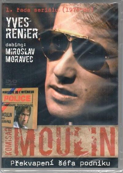Komisař Moulin - Překvapení šéfa podniku - DVD plast
