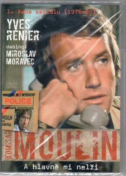 Komisař Moulin - A hlavně mi nelži - DVD plast