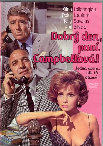 Dobrý den, paní Campbellová! ( originální znění, titulky CZ ) plast DVD