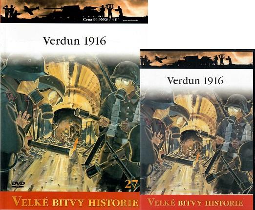 Velké bitvy historie 27 - Verdun 1916 ( časopis + DVD )