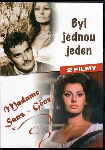2 filmy: Byl jednou jeden / Madame Sans-Gene (Originální  znění, titulky CZ ) plast DVD