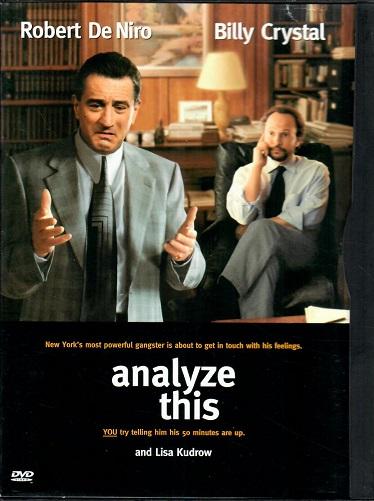 Analyze This / Přeber si to ( originální znění, titulky CZ ) DVD