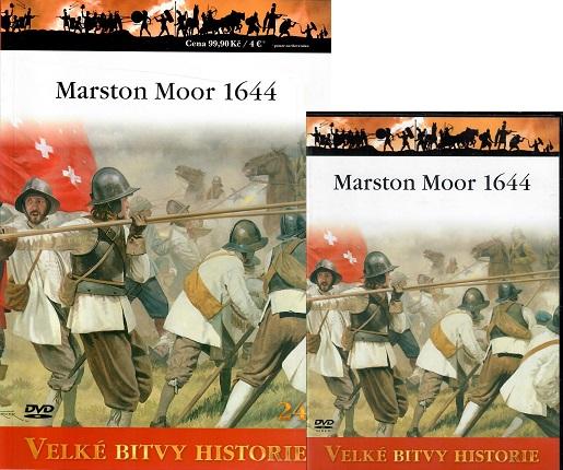 Velké bitvy historie 24 - Marston Moor 1644 ( časopis + DVD )