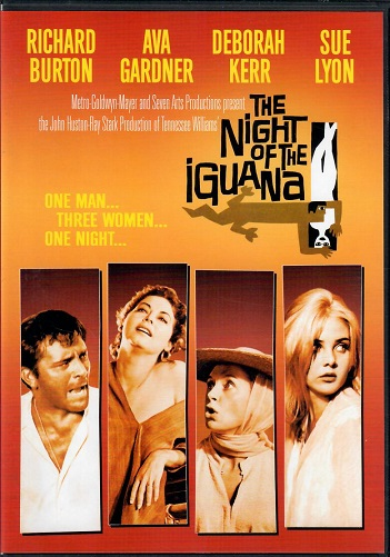 The Night of the Iguana / Noc s leguánem ( originální znění, titulky CZ ) plast DVD