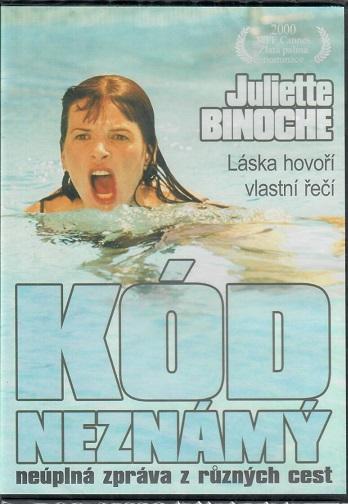 Kód neznámý ( originální znění, titulky CZ ) plast DVD