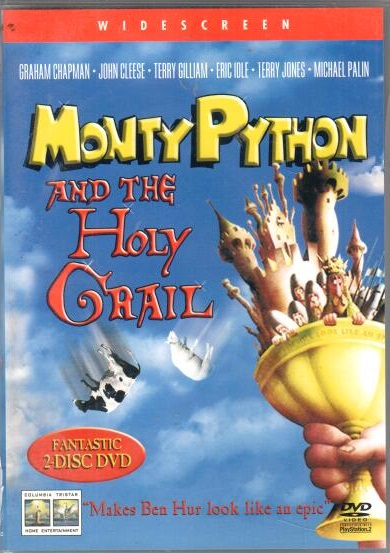 Monthy Python and The holy Grall - 2 DVD plast