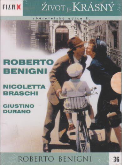Život je krásný (Roberto Benigni) - DVD
