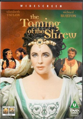 The Taming of the Shrew / Zkrocení zlé ženy ( originální znění, titulky CZ ) plast DVD