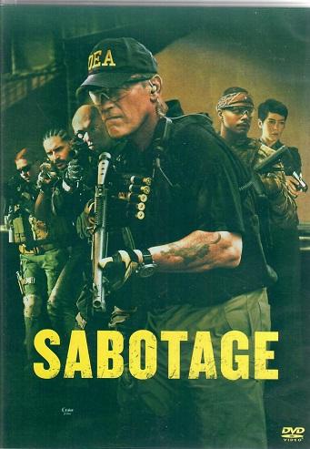 Sabotage / Sabotáž ( Plast ) DVD