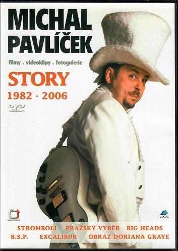Michal Pavlíček  - Story 1982-2006 ( filmy, videoklipy, fotografie ) plast DVD