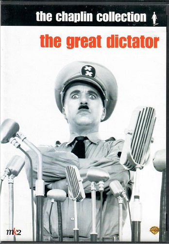 Charlie Chaplin - The great dictator ( Plast ) DVD