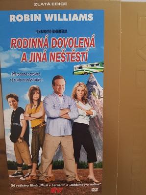 Rodinná dovolená a jiná neštěstí-DVD zlatá edice - bazarové zboží