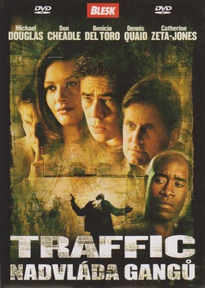 Traffic - Nadvláda gangů - DVD pošetka
