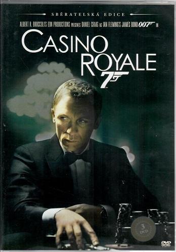 Casino Royale 3 disková sběratelská edice ( plast ) DVD