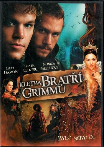 Kletba bratří Grimmů ( plast ) DVD