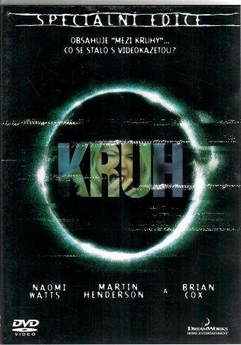 Kruh - speciální edice plast DVD