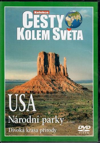 Cesty kolem světa - USA národní parky  ( 1. část ) plast DVD