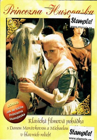 Princezna Husopaska ( pošetka ) DVD