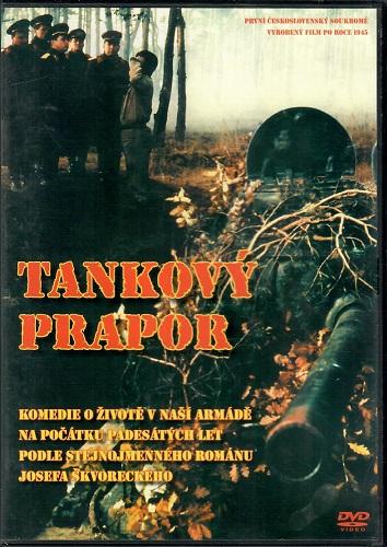 Tankový prapor ( plast ) DVD