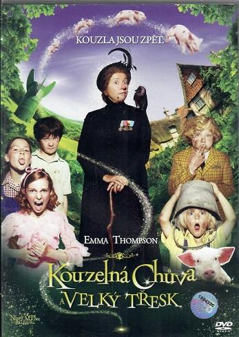 Kouzelná chůva a Velký třesk ( plast ) DVD