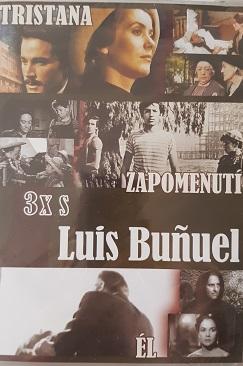 3x s Luis Bunuel /Tristana, Zapomenutí, Él/ 3 DVD plast