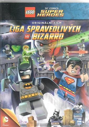 LEGO: DC - Liga spravedlivých vs. Bizarro ( plast ) DVD