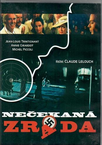Nečekaná zrada ( plast ) DVD