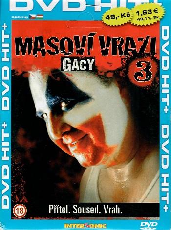 Masoví vrazi 3 - GACY ( pošetka ) DVD