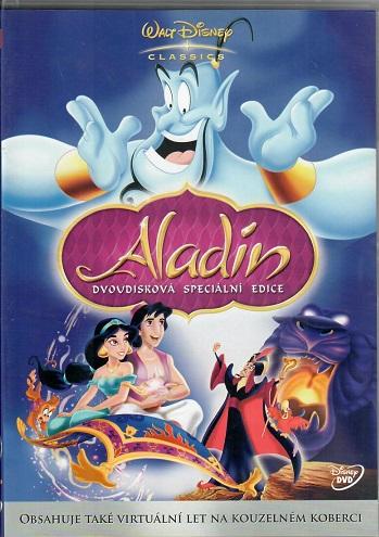 Aladin 2 disková speciální edice ( plast ) DVD