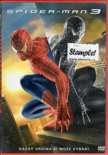 Spider-Man 3 - plast DVD