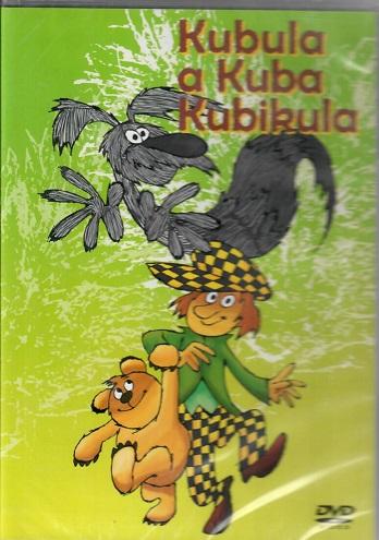 60 večerníčků - 15 - Kubula a Kuba Kubikula ( plast ) DVD