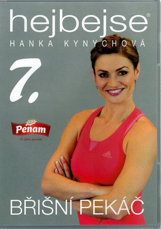 Hejbejse 7. - Břišní pekáč - Hanka Kynychová - DVD plast