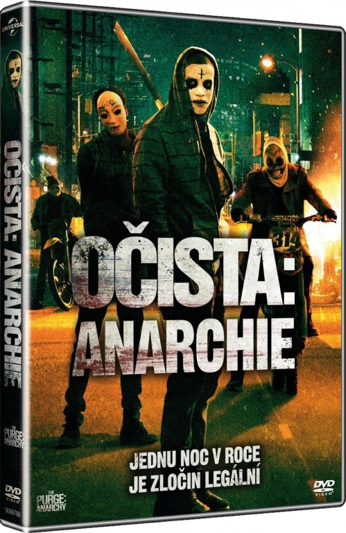 Očista: Anarchie - DVD plast