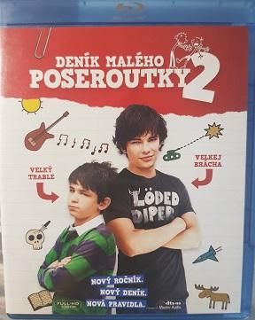 Deník malého poseroutky 2(Blu-ray)