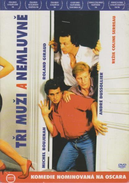 Tři muži a nemluvně - DVD