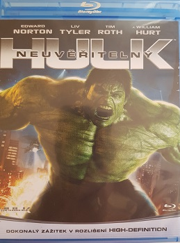 Neuvěřitelný Hulk (2008)Bluy-ray
