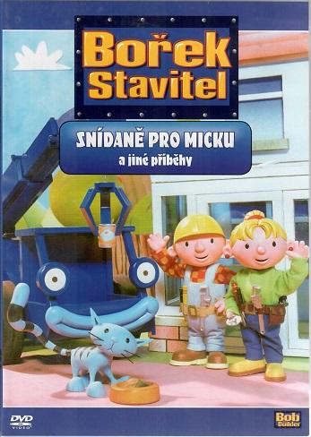 Bořek stavitel: Snídaně pro Micku a jiné příběhy ( plast ) DVD