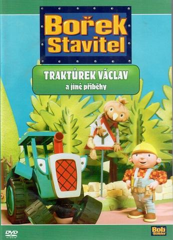 Bořek Stavitel? Traktůrek Václav a jiné příběhy ( plast ) DVD - bazarové zboží