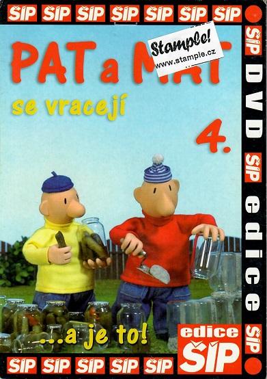 Pat a Mat 4 - DVD pošetka