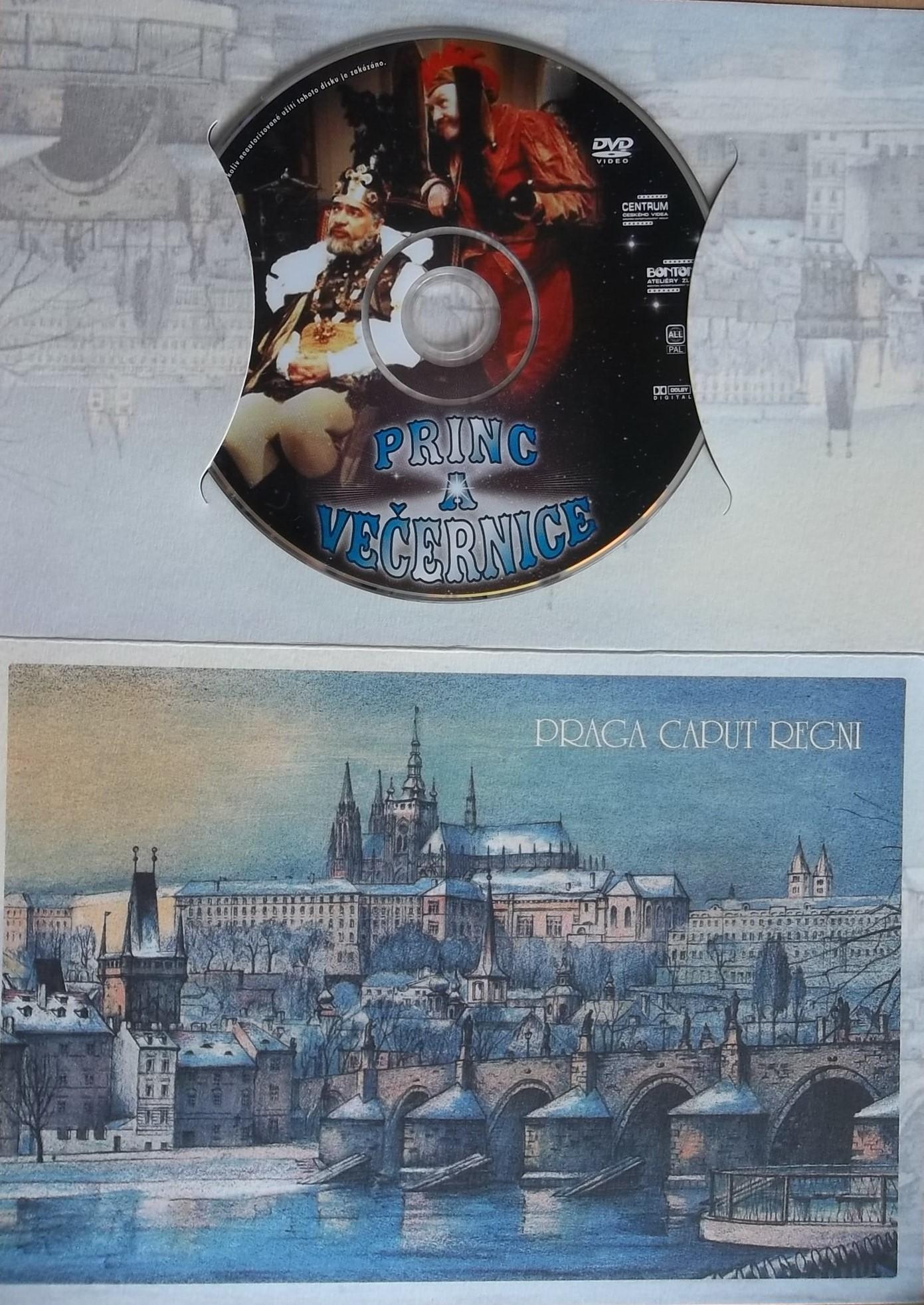 Princ a Večernice - (dárková obálka) DVD