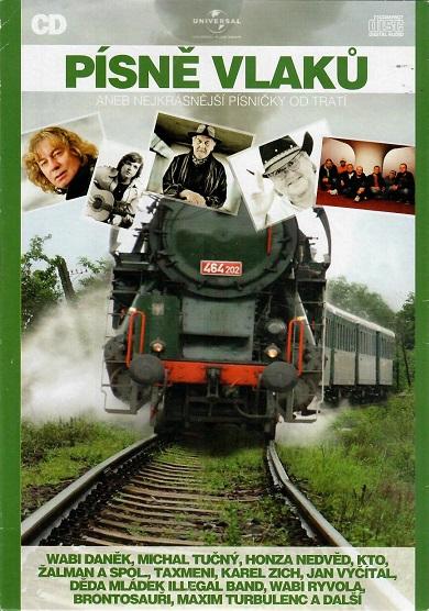 Písně vlaků aneb nejkrásnější písničky od tratí ) pošetka ) CD