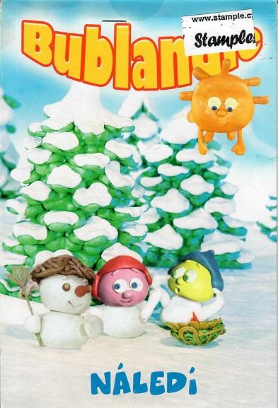 Bublandie - Náledí - pošetka DVD