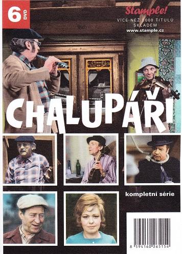 Kolekce Chalupáři -  6x DVD ( kompletní ) - papírové pošetky