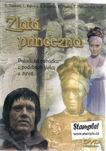 Zlatá princezna ( plast ) DVD