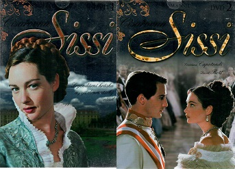 Kolekce cíařovna Sissi - 2x DVD pošetka