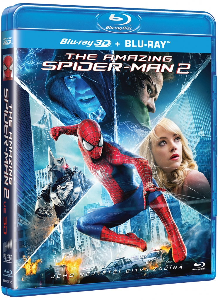 Spider-man 2:the amazing /2BD+3BD/