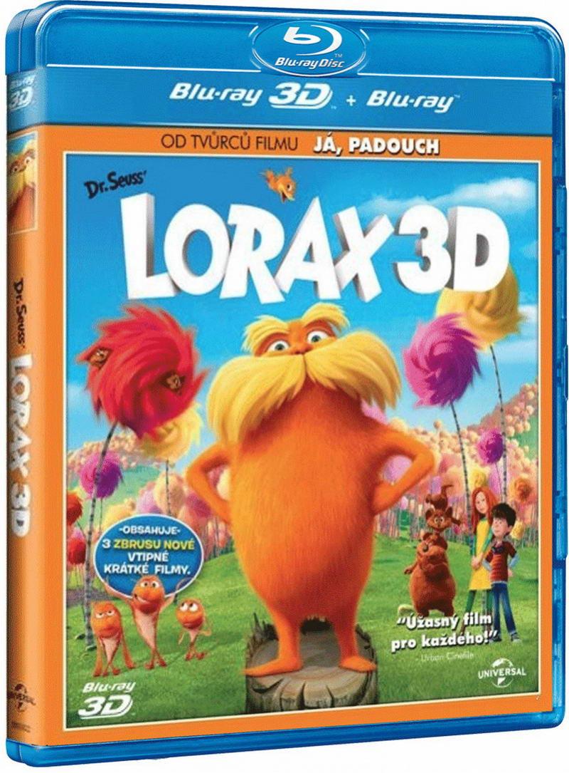 Lorax 3D + Blu-ray