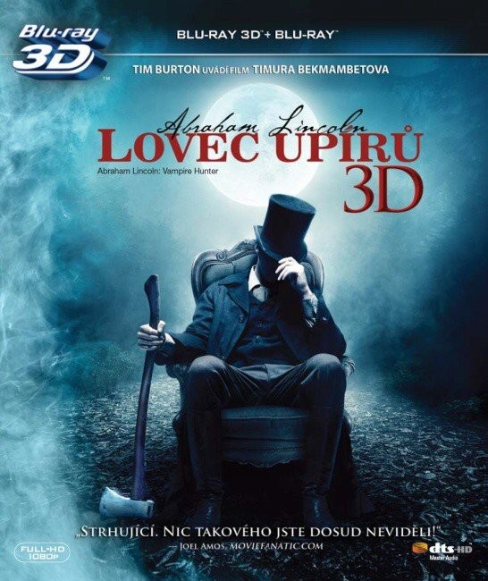 Lovec upírů 2D+3D/Blu-ray/